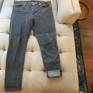 Hudson Charcoal Jeans, size 34